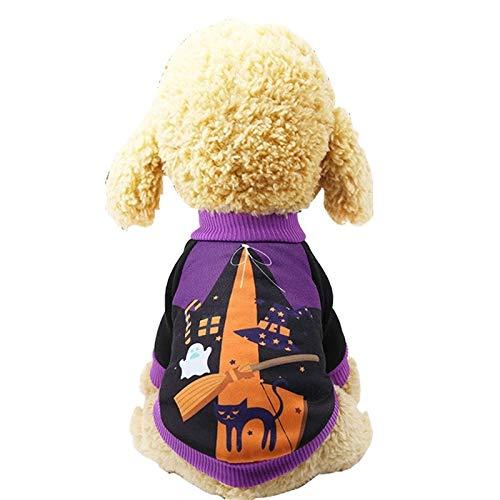 Hond jas. Hond Kleding Halloween Carnaval Grappig Huisdier Twee voeten Kleding, Grootte: XS (Witch) ZHUHX ZHUHX, Witch