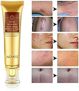 ژل برطرف کننده 3 بسته TCM اسکار و علائم آکنه ، عقیم سازی ضد التهابی - اسکار ، سوختگی ، علائم کشش ، لکه های آکنه ، پماد کرم درمان قرمزی پوست ، ترمیم پوست صورت و بدن