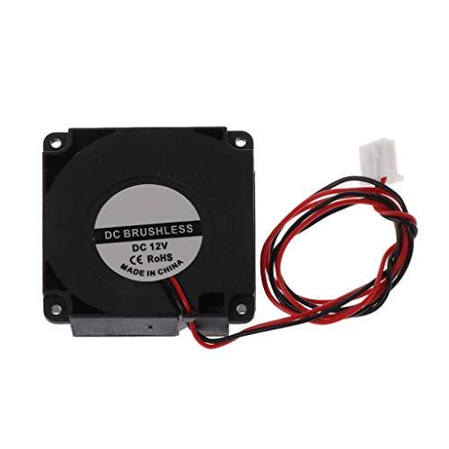 bibididi Ventilador de Impresora 3D 12V 24V 40x10mm Cojinete hidráulico Soplado Ventilador de refrigeración Radial Turbo
