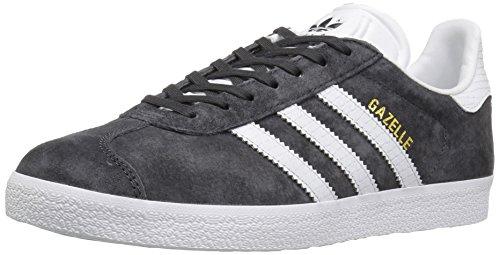 Zapatillas Adidas Originals Gazelle, negro (negro blanco/dorado metálico (Utility Black White/Gold Metallic)), (5 M US)
