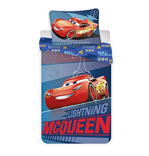Cars Kinder Bettwäsche Flash McQueen 140x200 cm
