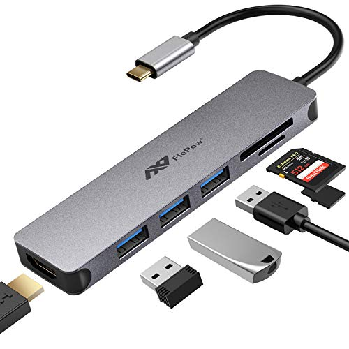 USB C Hub Multiport Adapter - 7 ...