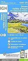 Ossau D'Aspe Parc National des Pyrenees 1:25 000