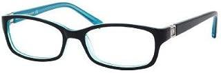 Kate Spade Regine Eyeglasses-0DH4 Black Aqua-50mm