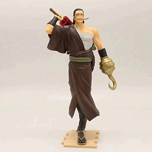 Una Pieza Anime muñeca águila Ojos Hembra Emperador Arena cocodrilo qiwu mar Version Escultura Estatua Juguete Figura decoración Modelo Figura 20 cm Altura-B