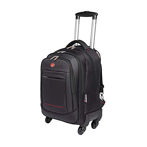 PLAQV Reiserucksack -Rucksack-Trolley mit Laptopfach 15,6