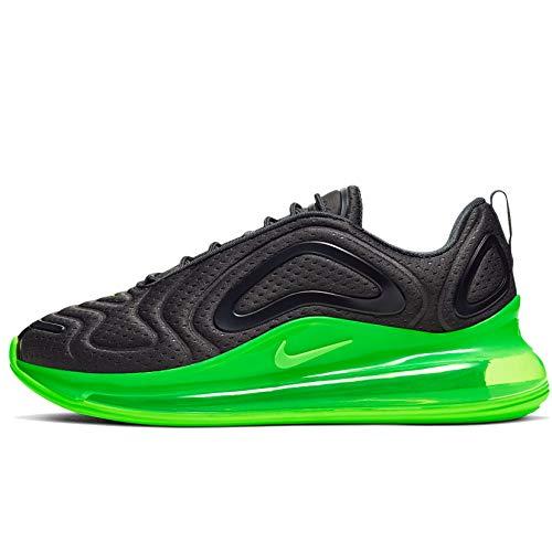 Nike Sneaker Herren Air Max 720 Lifestyle Turnschuhe (44.5 EU, schwarz-grün)