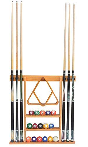 Flintar Wall Cue Rack, Stylish Premium Billiard Pool Cue Stick Holder, Made...