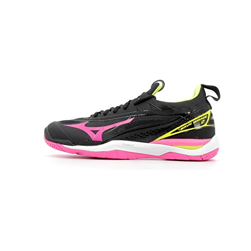 Mizuno Mizuno Damen Wave Lightning Z6 Volleyballschuhe, Blue Light/Astral Aura/White, 39 EU