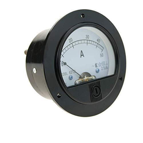 BeMatik - Meter elektrisch analog für Platte Runde 70mm 50A Amperemeter