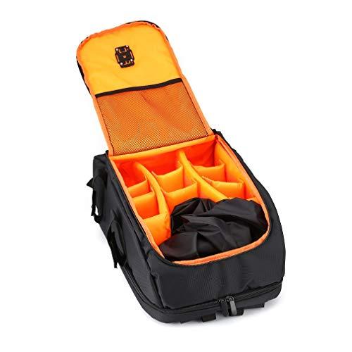 OUYBO FPV Racing Drone Zaino Carry Bag Outdoor Portable Aircraft Case Borsa a tracolla per Multirotor RC Aereo Fisso Wing Accessori telecomando accessori batteria (Colore: Arancione)