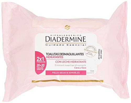 Diadermine Toallitas Desmaquillantes Refrescantes 100 ml