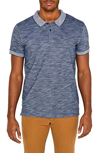 edc by ESPRIT Herren 039CC2K023 Poloshirt, Blau (Navy 400), Large (Herstellergröße: L)