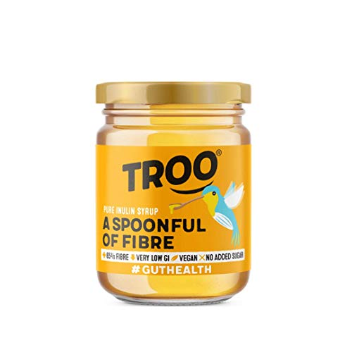 Troo Spoonful of Fibre | Pure Inulin Syrup | Gut Healthy Goodness | High Fibre | Low Sugar | Lower Carb | Fat Free | Vegan | Keto | 227G | 6 Pack