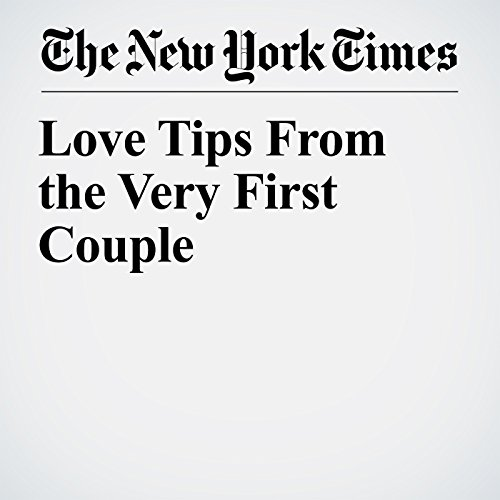 Love Tips From the Very First Couple copertina