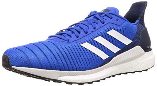 adidas Solar Glide 19, Zapatillas para Correr para Hombre, Blue/Ftwwht/Co Navy, 40 2/3 EU
