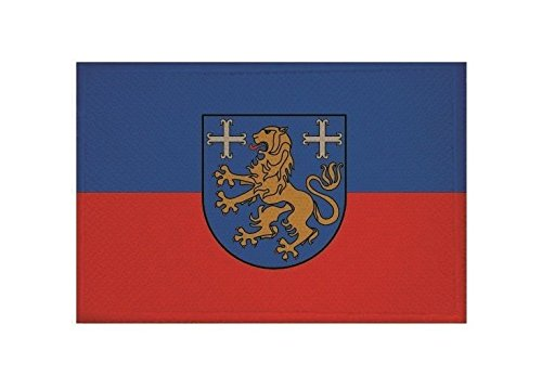 U24 Aufnäher Landkreis Friesland Fahne Flagge Aufbügler Patch 9 x 6 cm