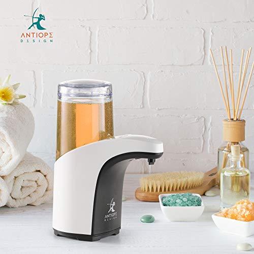 Antiope Design®️ ● Dispenser Sapone Automatico ● Dispenser Gel Disinfettante Mani ● Nuova Versione 2020 Touchless Dosatore Erogatore Liquido