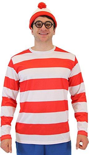 Où est Charlie Waldo Costume de luxe pour adulte - - XXXL