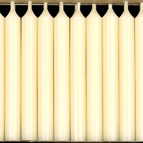 Pack of 20 Ivory Traditional Baumkerzen Christmas Tree Chime Candles