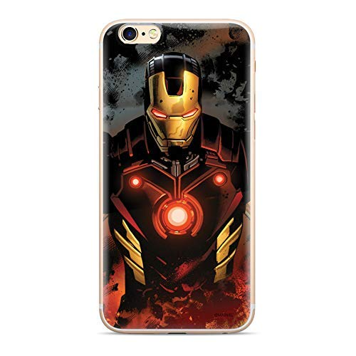 Finoo Marvel iPhone Silicone Serie 02 - Iron Man V6, iPhone 7 Plus / 8 Plus