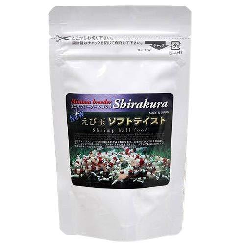 シラクラ エビ玉ソフトテイスト 30g(小) ビーシュリンプ エサ 餌