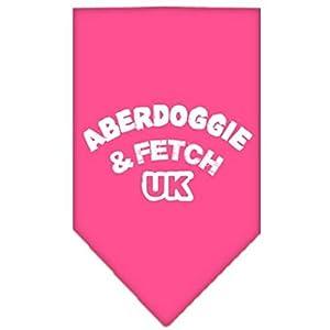 Mirage Aberdoggie et Fetch UK écran Imprimé Bandana pour chien