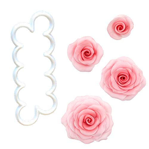1 FMM Rosen Ausstecher - The Easiest Rose Ever -