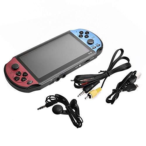 Dynamicoz 5,1-Zoll-Großbild-Konsole Maschine 128-Bit-8G-Speicher mit 3000 Spielen für X12pro, Unterstützung TV-Verbindung Double Rocker Handheld-Spiel