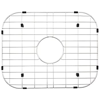 NWC Sink Protector Metal Grid for Stainless Steel Kitchen Sinks   19 in X 15 in   Best for Protecting Your Sink