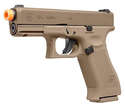 Umarex Glock 19X Blowback 6mm BB Pistol Airsoft Gun, Glock 19X GBB