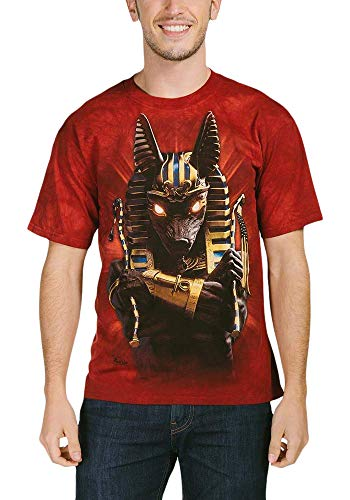 The Mountain T-Shirt Anubis Soldat, Taille L, Rouge