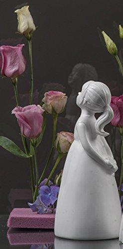 Valentino Gala, Dekofigur Sophie mit Hände auf dem Rücken, H ca. 18 cm, keramisches Material