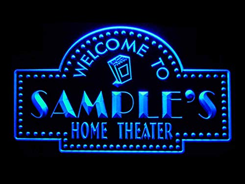 ADVPRO ph-tm Name Personalized Custom Home Theater Bar Neon Sign