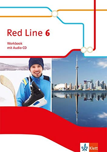Red Line 6: Workbook mit Audio-CD Klasse 10 (Red Line. Ausgabe ab 2014)