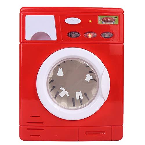 Longzhuo Machine à Laver Enfants Jouet, Mini Simulation Machine à Laver Enfants Appareil électrique Machine à Laver Jouets Cadeau(5502)