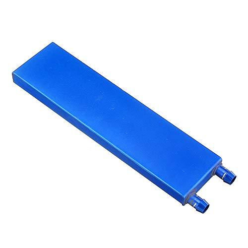 ILS – 40 x 160 0,5 mm blauw van aluminiumlegering waterkoeler koelvloeistof thermotechnicus zink