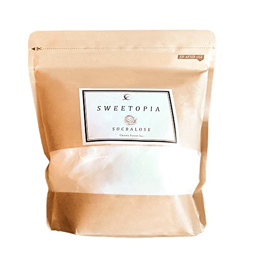 sweetopia(スイートピア) スクラロース [ 800g/甘味料/糖質ゼロ ] 100%天然由来 エリスリトール 砂糖 糖質制限 ダイエットシュガー ( 砂糖の3倍の甘さ )