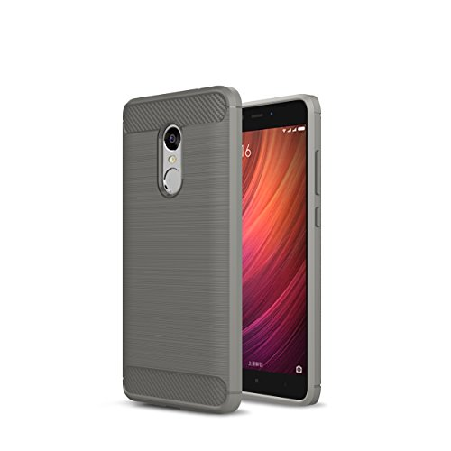 WindTeco Xiaomi Redmi Note 4 Funda - Cuerpo de Resistente Giratoria con Clip Anti-Choque de Doble Capa Case Cover para Xiaomi Redmi Note 4
