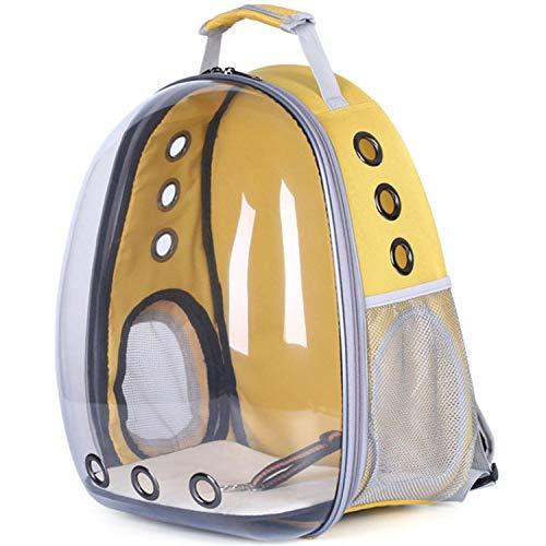 Rugzak voor huisdieren, zonder luchtbellen, draagbaar, voor katten, reizen, ademend, ruimte voor capsules, rugzak voor honden en katten.