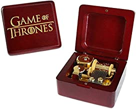 Music Box Game of Thrones Vintage Wood Carved Mechanism Musical Box Wind Up Music Box Gift for Christmas,Birthday,Valentine's Day,Best Gift for Kids,Friends,Melody