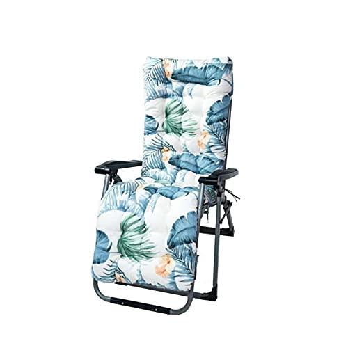 Ersatz Garten Recliner Schaukelstuhl Kissen rutschfeste Lounge Stuhl Kissen Waschbare Lange Stuhl Fenster Bodenmatte Perfekt A.