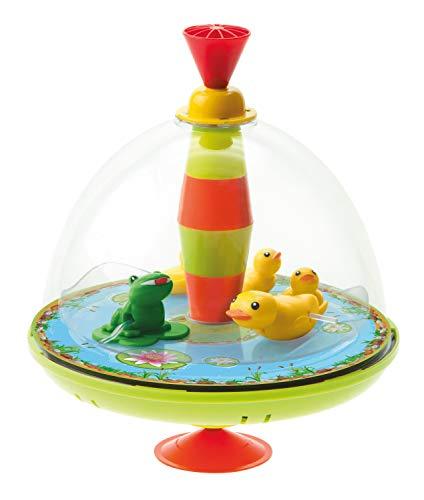 Bolz Toupie panoramique Famille de Canards avec Puce Jouet Rythme, Multicolore