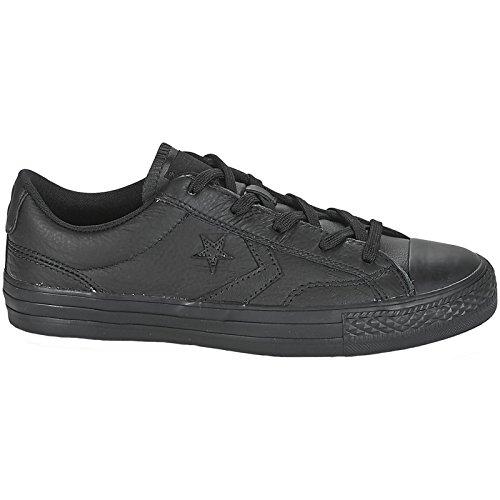 Converse Unisex-Erwachsene Star Player OX 159779C Fitnessschuhe, Schwarz (Black/Black/Black 001), 41 EU