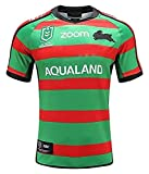 DangLeKJ 2020 South Sydney Rabbitohs Rugby Jersey, Home Court and Away Rugby T-Shirt, for Le Mari ou Fils (Color : 1, Size : L)