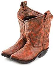 Smart Living 10015279 Zingz & Thingz Western Classic Cowboy Boots Planter