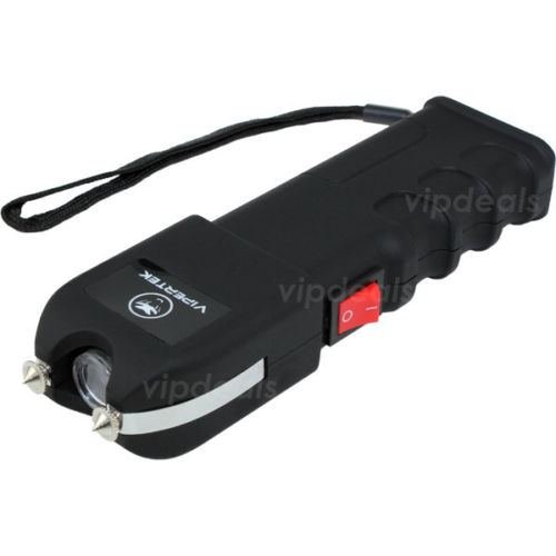 VIPERTEK VTS-989 - Rechargeable Police Stun Gun LED Wholesale Lot + Taser Case