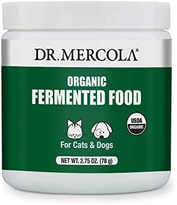 Dr Mercola Organic Fermented Food for Cats Dogs 2 75 oz per Container 78g Non GMO Gluten Free product image