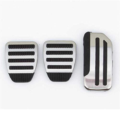 MPOQZI Pedales de Coche Pedal de Freno de Gas Almohadillas Antideslizantes, aptas para Nissan Sentra Slyphy Sunny Pulsar Tiida Altima Teana Maxima