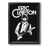 Eric Clapton エリック・クラプトン アートパネル 装飾画 額縁付き インテリア 壁掛け 簡潔なファッション 壁飾り ウォール装飾 北欧 モダン アートボード 木製の枠 アートフレーム 美しい 玄関 リビングと寝室の飾り 部屋飾り おしゃれ 写真 ソファの背景絵画 贈り物